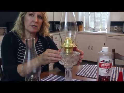 How to Use an Oil Lamp