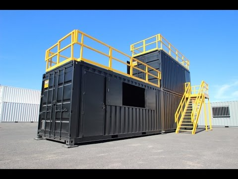 Live Fire Training Containers