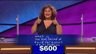Jeopardy Contestant Gets Alex Trebek To Say Turd Ferguson