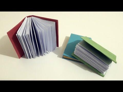 How to make a Paper cute Mini Book