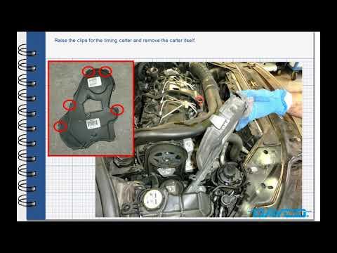 Timing kit installation Volvo XC70 2.4 Diesel – Engine: D5244T4