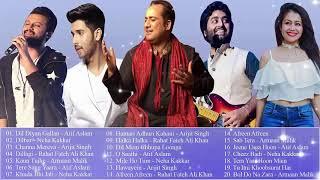 Atif Aslam | Neha Kakkar Arijit Singh Rahat | Fateh Ali Khan | Armaan Malik I नवीनतम बॉलीवुड के गाने