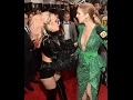 Celine Dion and Lady Gaga at GRAMMYs 2017 Red Carpet Live