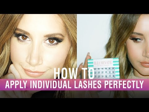 How To Apply Individual Lashes Perfectly | Illuminate by Ashley Tisdale