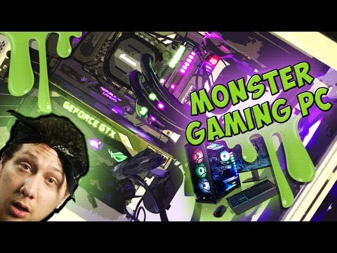ULTRA SUPER MONSTER PC GAMING BUILD!! 😂 (70K SUBS!!)