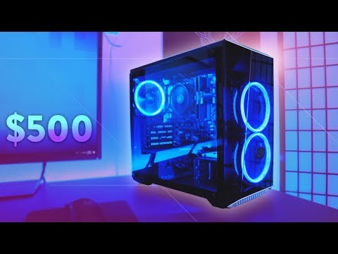 Build a $500 Budget Gaming PC - Play Fortnite (2018)