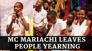 NEW! MC MARIACHI MAKES PEOPLE LAUGH OUT CRAZY AT COMEDY FILES END OF YEAR SHOW