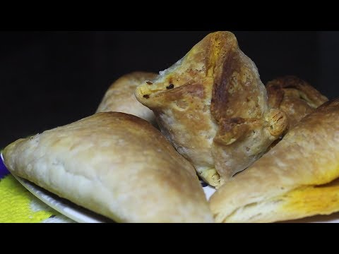 Egg Puffs with Dalda | Vanaspati | Margarine Pastry in English | CountNCook