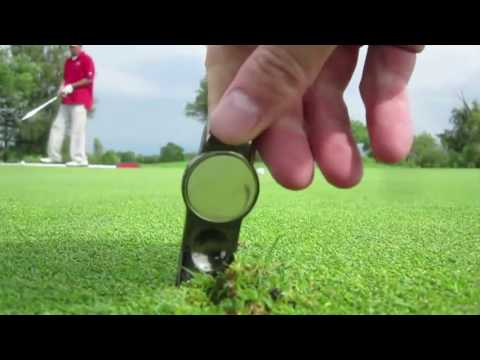 DIV Pro - Golf Divot Tool, Golf Ball Marker, Cigar Holder, Shotgun Opener
