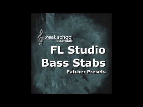 House Bass Stab Presets for FL Studio
