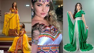 #x202b;(تابع) ستيل جديد للفستان القبائلي للتصديرة Robes Kabyles Modernes Et Tendance Pour Mariées Et Fêtes#x202c;lrm;