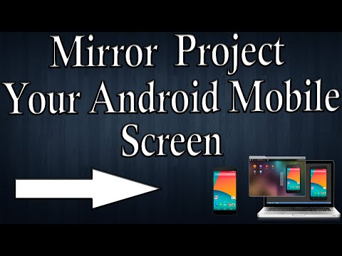 How To Mirror  Project Your Android Mobile Screen On PC And Control Your Android Phone [ Hindi ]