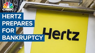 Hertz could soon file for bankruptcy