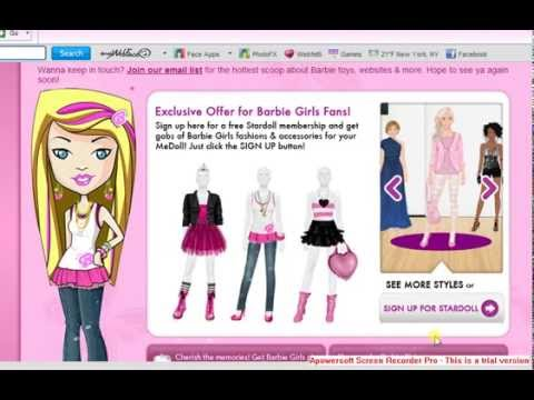 How to get Free Barbie's clothes on stardoll