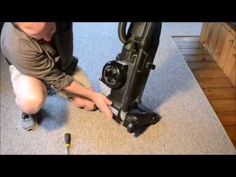 How To Remove & Replace A Vacuum Cleaner Belt (Bissell)