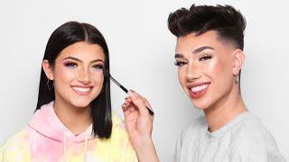 Doing Charli D'Amelio's Makeup!