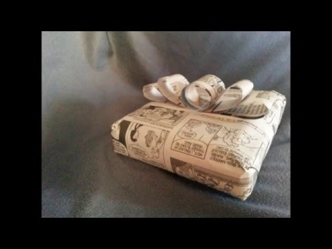 How to Make a Gift-wrapped Box out of Recycled Materials