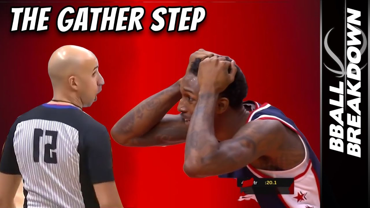 Explaining The Gather Step To Basketball Fans
