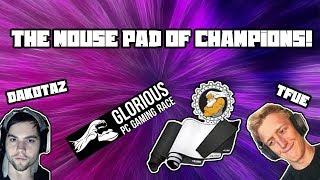 Glorious PC Gaming Race G- 3XL. TFue/Dakotaz go to mouse mat!