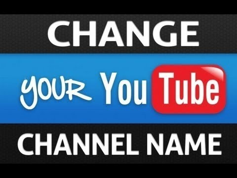 How To Change Your Youtube Username! August 2017 (STILL WORKING!)