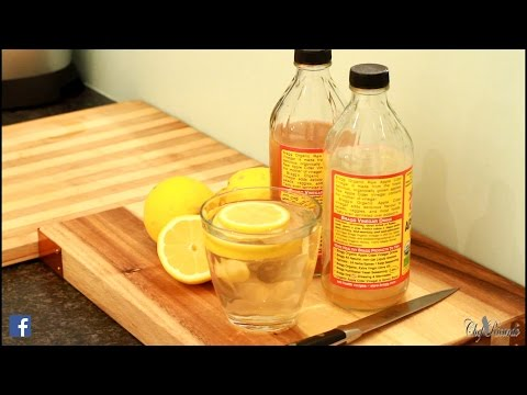 Flat Tummy With Apple Cider Vinegar Lemon Honey Water | Recipes By Chef Ricardo
