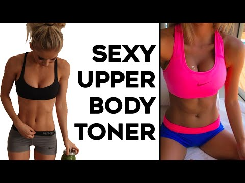 ⚡️ INTENSE Upper Body Workout For Women |  4 Workouts To Tone Arms, Shoulders and Upper Back!