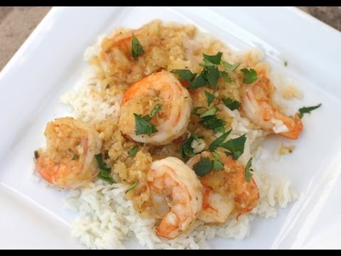 How To Make Coconut Shrimp With Coconut Rice - Very Tropical! - by Rockin Robin