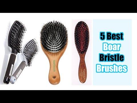 Top 5 Best Boar Bristle Brushes Reviews - Styling Essentials Natural Boar Bristles Hair