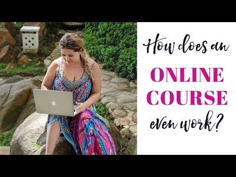 How does an Online Course even work?