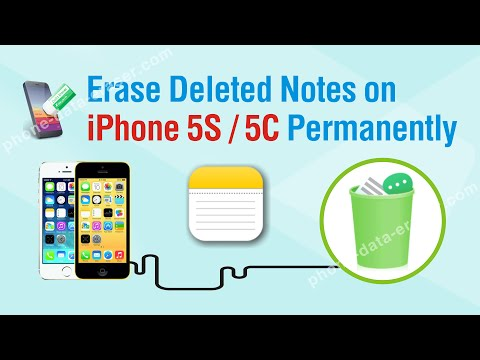 How to Erase Deleted Notes on iPhone 5S / 5C Permanently