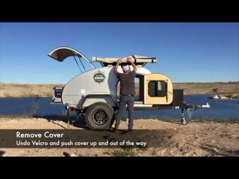 Awning Setup and Breakdown