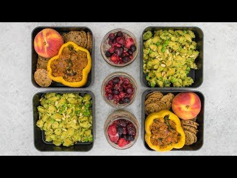 High Protein Vegan Meal Prep (96G!)