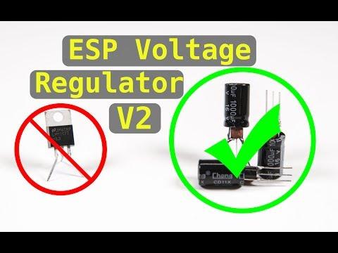 New ESP8266 Voltage Regulator Design