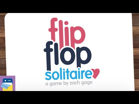 FlipFlop Solitaire: iOS iPad Pro Gameplay (by Zach Gage)