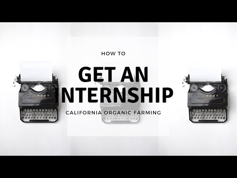 Quick Tips: How to get an Internship