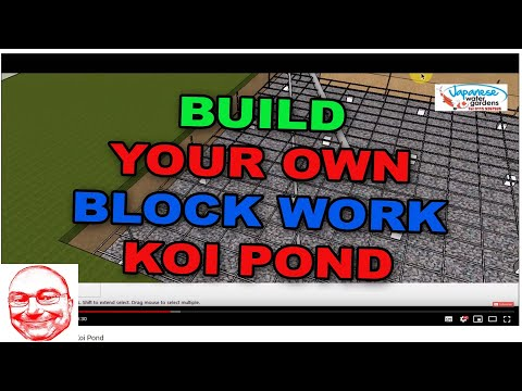 How to build your own Koi Pond