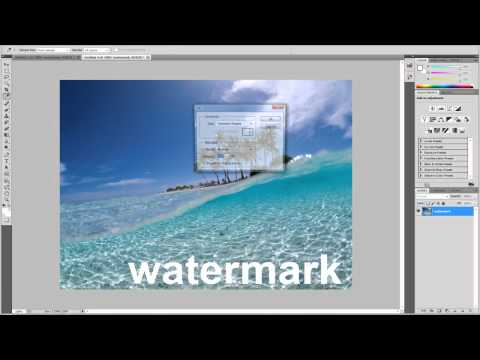 How to Remove Watermarks Tutorial| Photoshop CS5