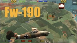 Wings of Duty FW-190-A3 Game Play