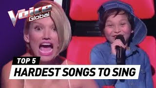 AMAZING BEYONCÉ SONGS in THE VOICE KIDS - PakVim net HD