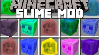 Minecraft SLIME MOD / BOUNCE AROUND AND FIGHT EVIL SLIMES!! Minecraft