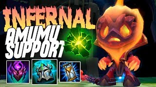 INFERNAL AMUMU SETS THE WORLD ON FIRE!! - Amumu Support - PBE - League of Legends
