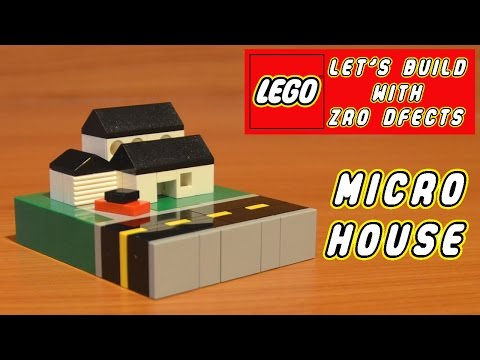 Lego Let's Build - Micro House