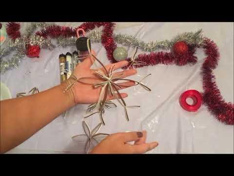 Snowflakes Ornament DIY
