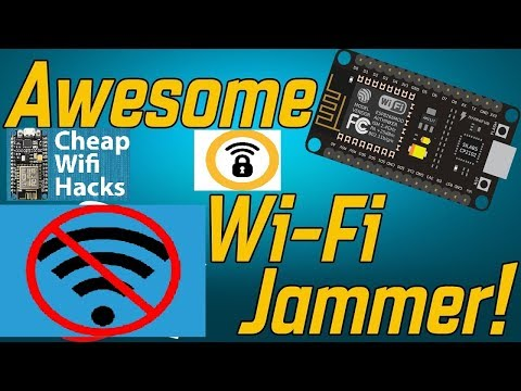 How To Make A WIFI Jammer