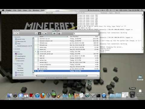 How to reset your minecraft server (MAC)