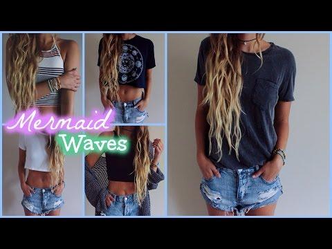 Mermaid Waves // Hair Tutorial