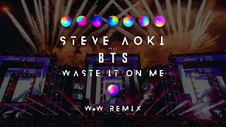 Download Steve Aoki feat. BTS - Waste It On Me (W&W Remix) Video