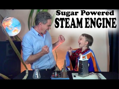 How to make your own alcohol to power a Steam Engine