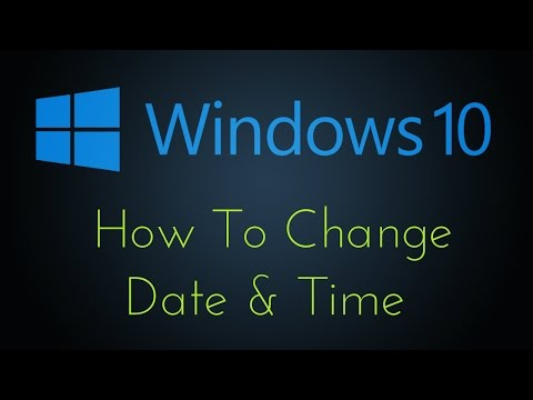 How To Change Date and Time In Windows 10