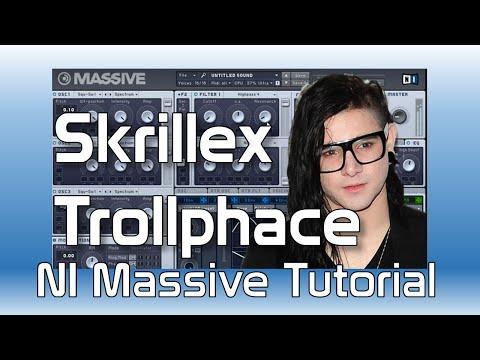 Skrillex Trollphace, Massive Synth tutorial, Creating Tracks